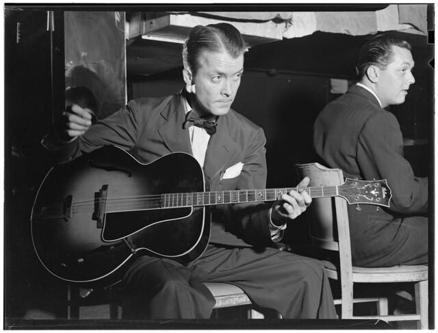 [Portrait of Eddie Condon, Eddie Condon's, New York, N.Y., ca. Oct. 1946] (LOC)