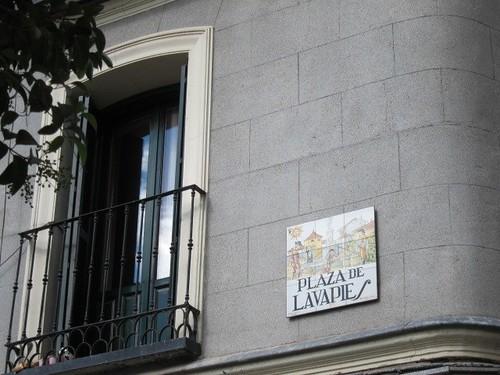 Plaza de Lavapiés. Madrid