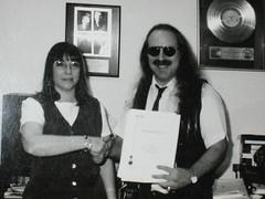 Marci Drexler inducts Jon Hammond in to ASCAP