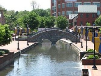 Carroll Creek Downtown Frederick