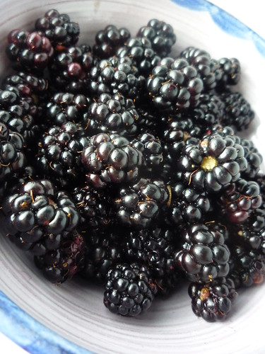 Blackberries for Cake