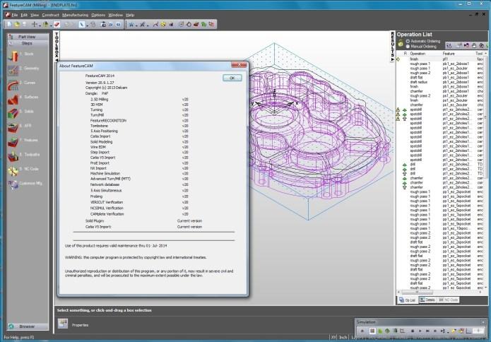 Delcam FeatureCam 2014 R3 SP2 v20.9.1.27 Win32-64 Multilanguage full