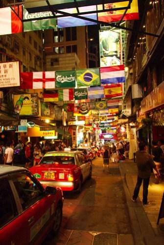 Hong Kong streetlife