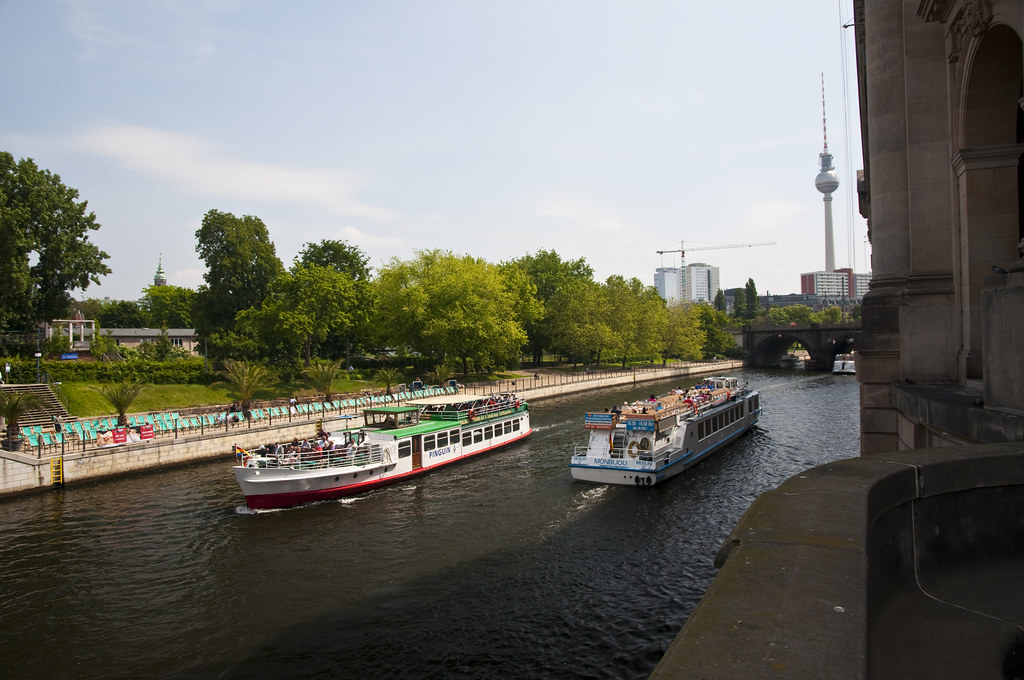 Spree River and the Fernsehturm