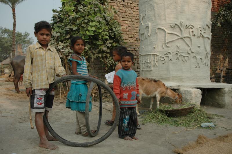 Tyring games, champaran, Bihar, India