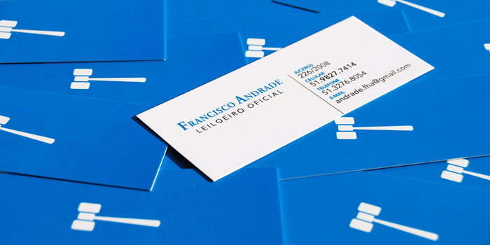 Business Card Design - Francisco Andrade