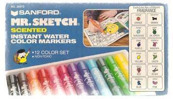 Vintage Sanford Mr. Sketch Scented Markers Box Set