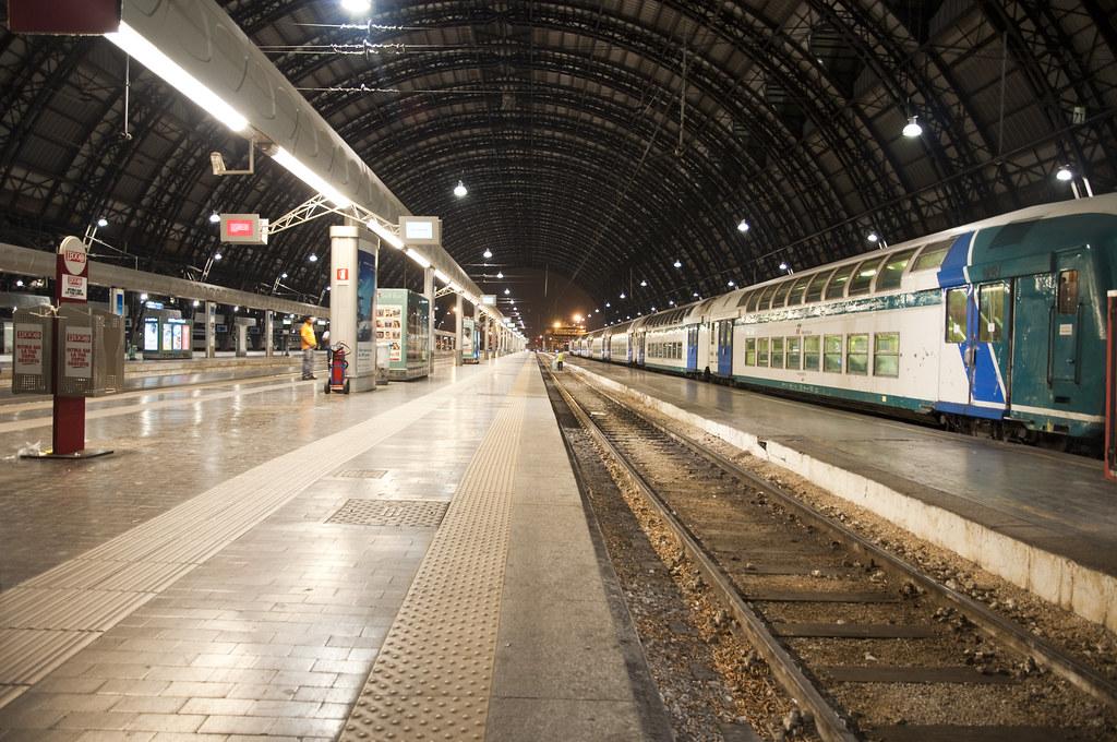 Inside Milano Centrale