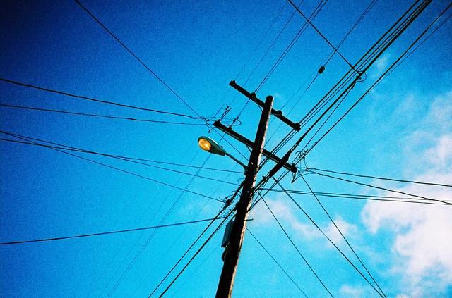 Berkeley telegraph pole