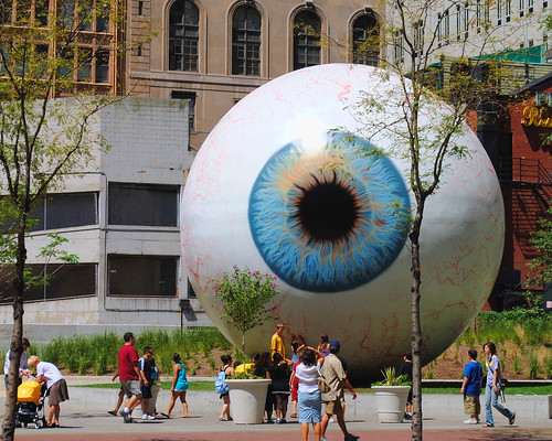 Giant Eyeball ~ Chicago