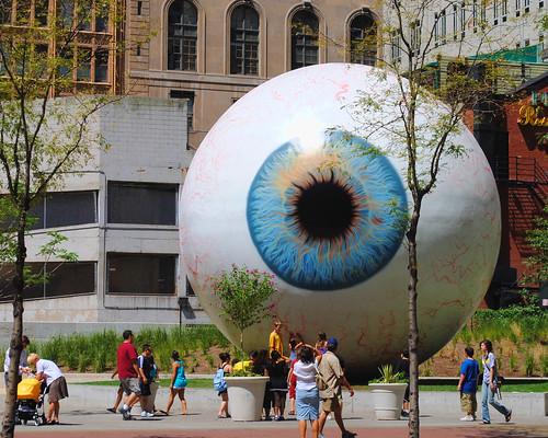 Giant Eyeball ~ Chicago