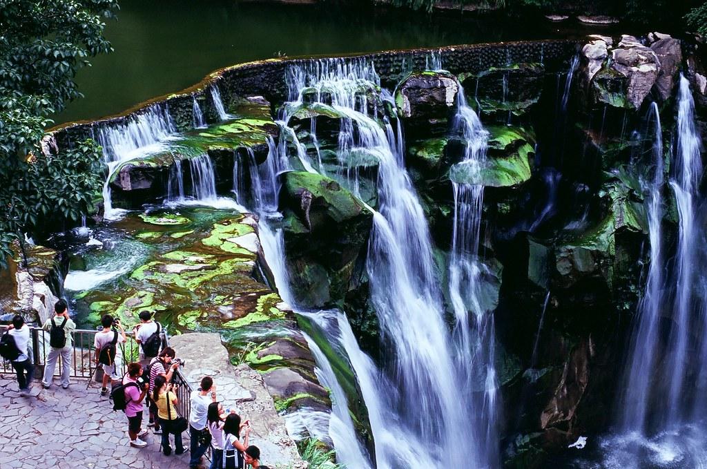 Waterfall @ 十分, Pingxi