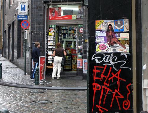 Relationship VIII (left in Brussels)