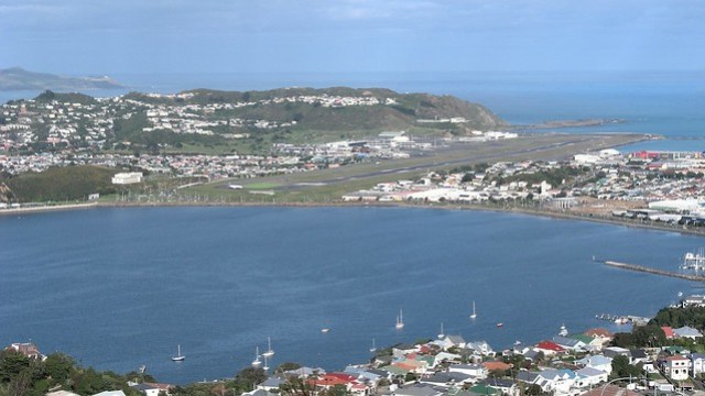 Wellington's airport