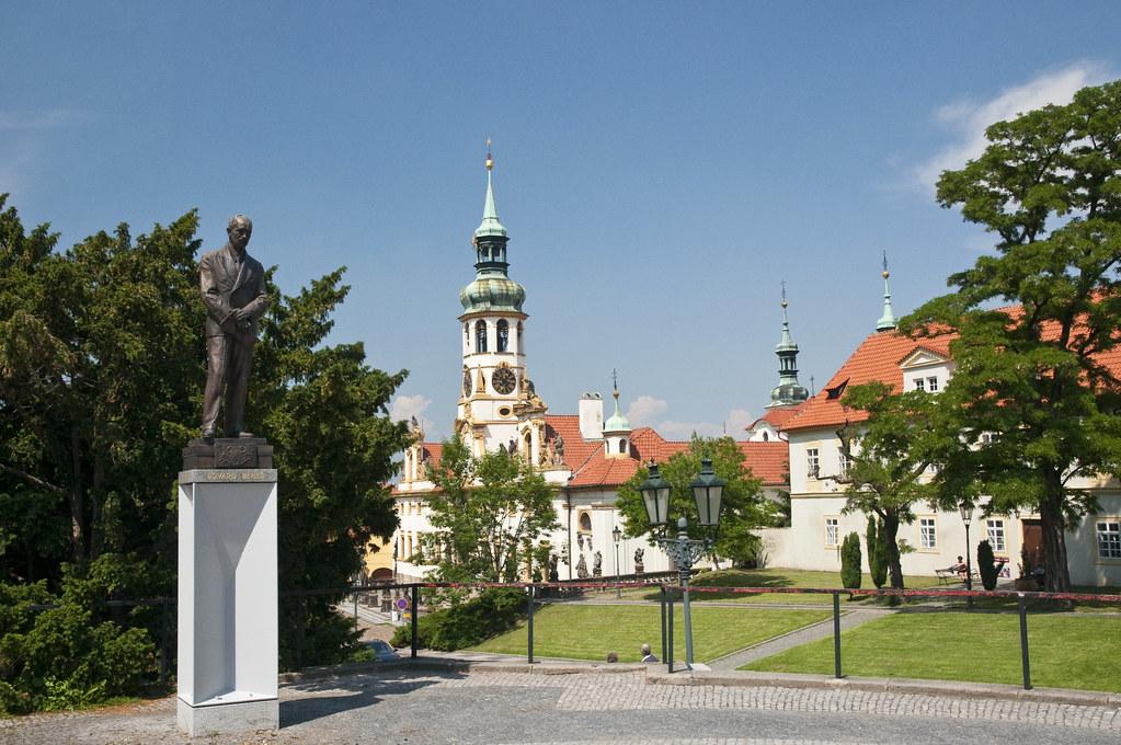 View from the Černínský palác (Czernin Palace)