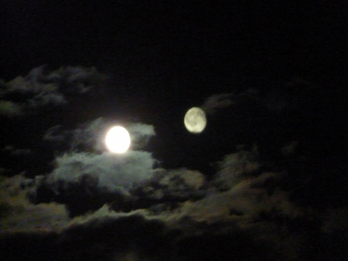 Two Moons August 27th Flickr Photo Sharing
