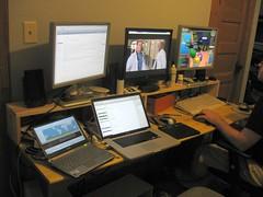 Too many monitors.