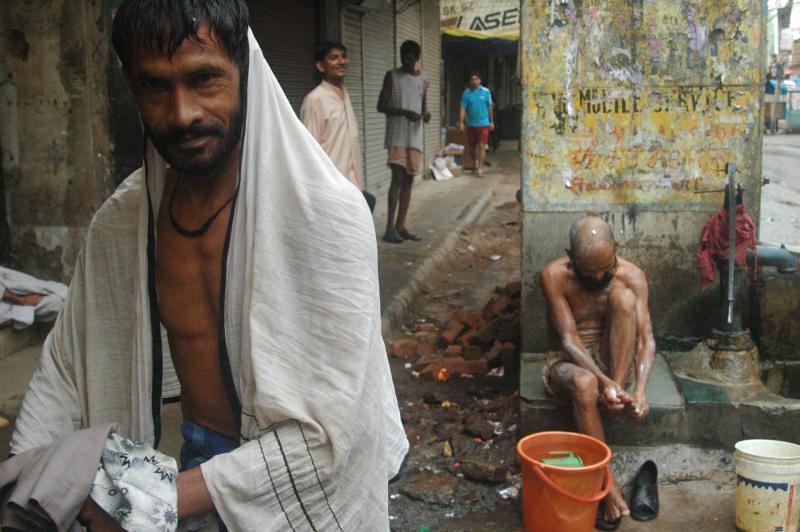 I am set for the day - Chawri Bazar to Jama Masjid, India