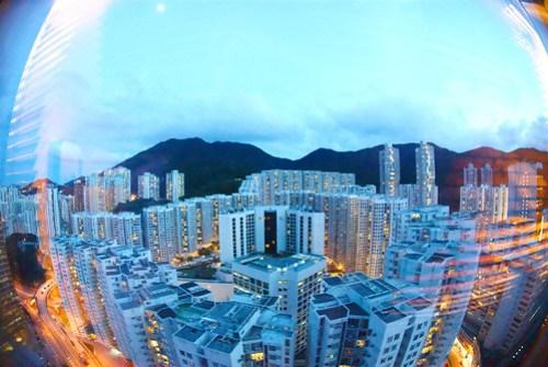 Hotel Window (Hong Kong)