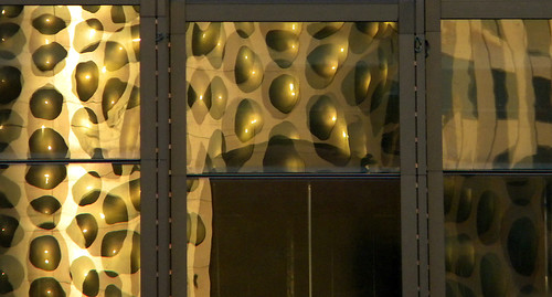 Las Vegas reflected building