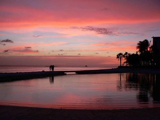 Caribbean Sunset, Aruba