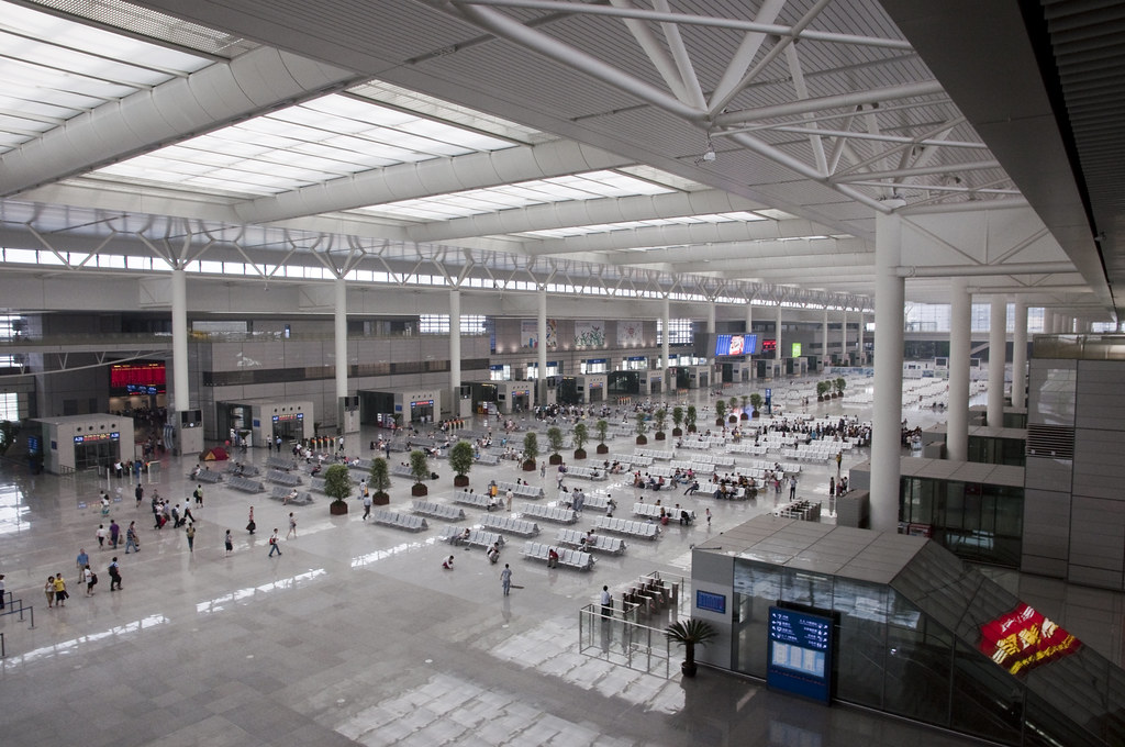 Overview of Hongqiao Station