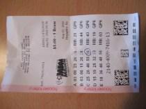Indiana Mega Millions Lottery Ticket