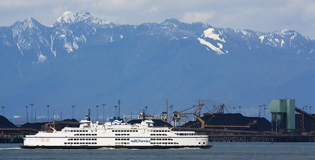 BC Ferries, Tsawwassen, Vancouver