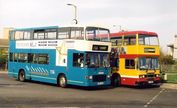 Arriva Livery Replaces Mrn Livery Cannock 2000