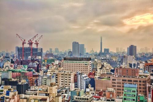Shinjuku - in the morning