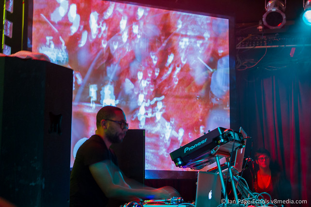 Carl Craig with visuals by Ian Page-Echols of V8 Media