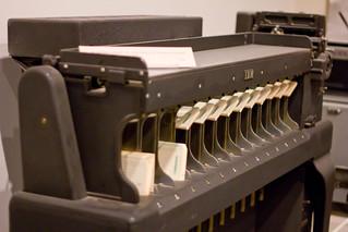 IBM Sorting Machine