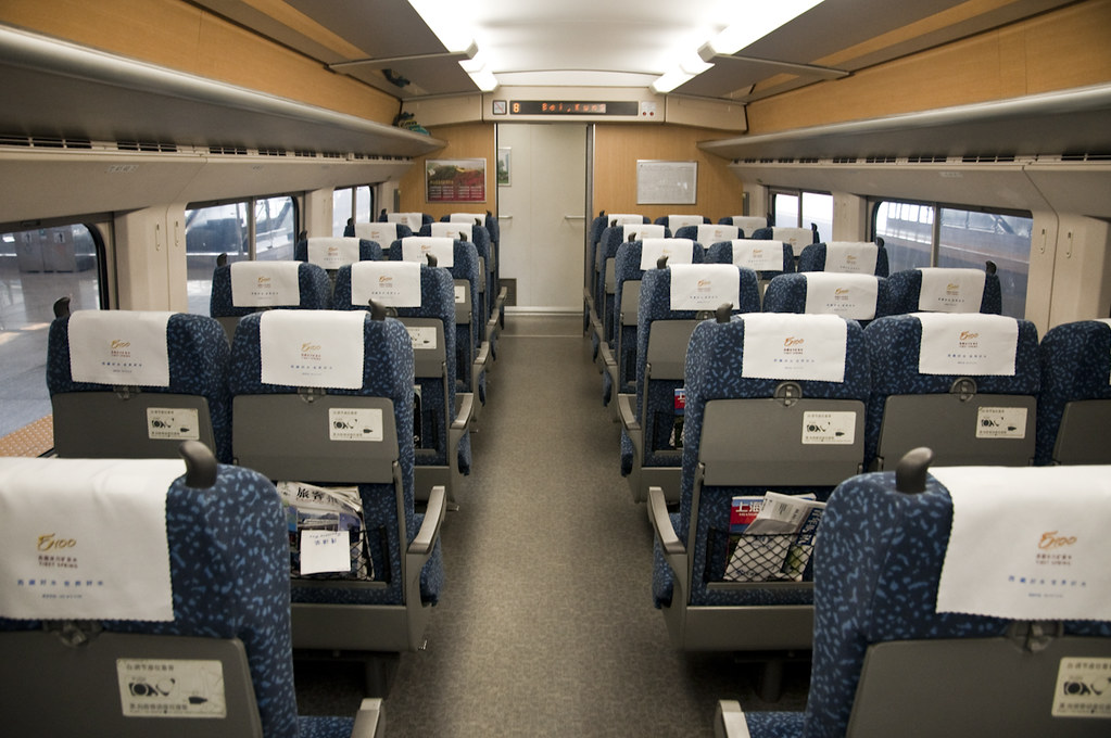 Second Class Cabin 二等座