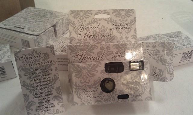 Wedding cameras arrived today.
