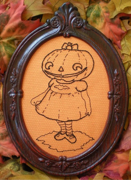 Poppy's Pumpkin Girl by xperimentl