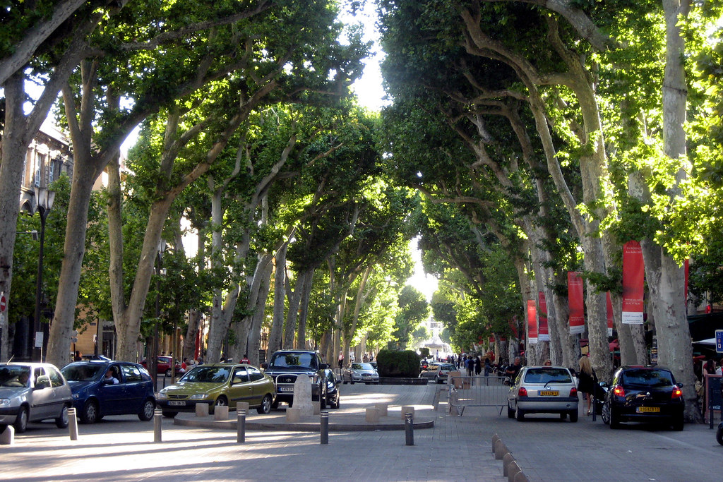 Main Street of Aix 2007