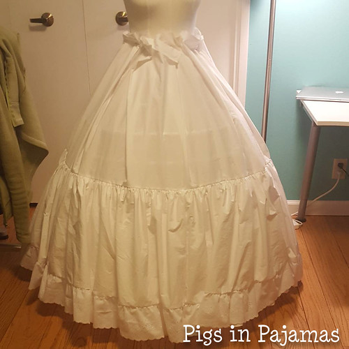 Victorian Petticoat not enough layers