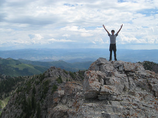 Me on top of a mountain