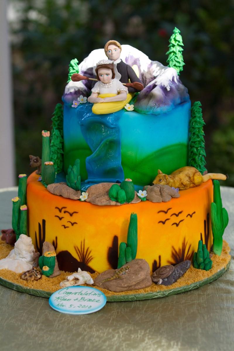 Taking the Plunge - Wedding Cake