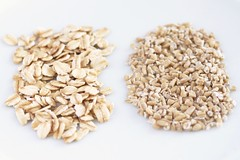 rolled vs. steel cut oats