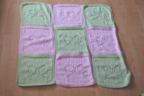 Flutterby Baby Blanket