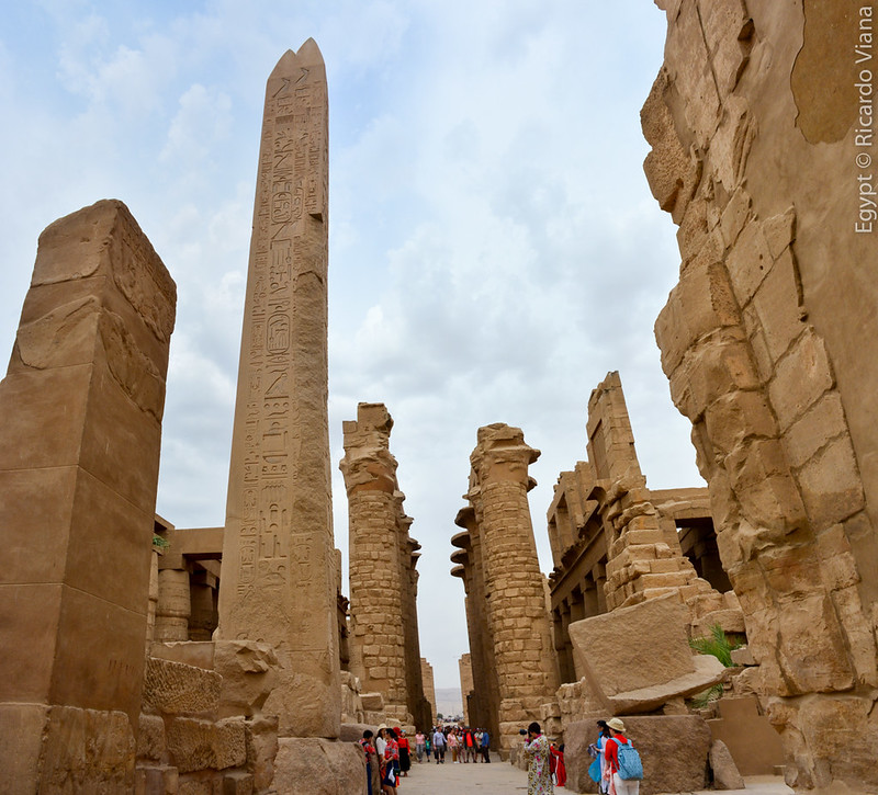 The Karnak Temple Complex. Luxor, Egypt.