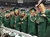 University of Hawaii at Manoa Department of Theatre and Dance graduates at Manoa's spring 2017 commencement ceremony at the Stan Sheriff Center on Saturday, May 13.