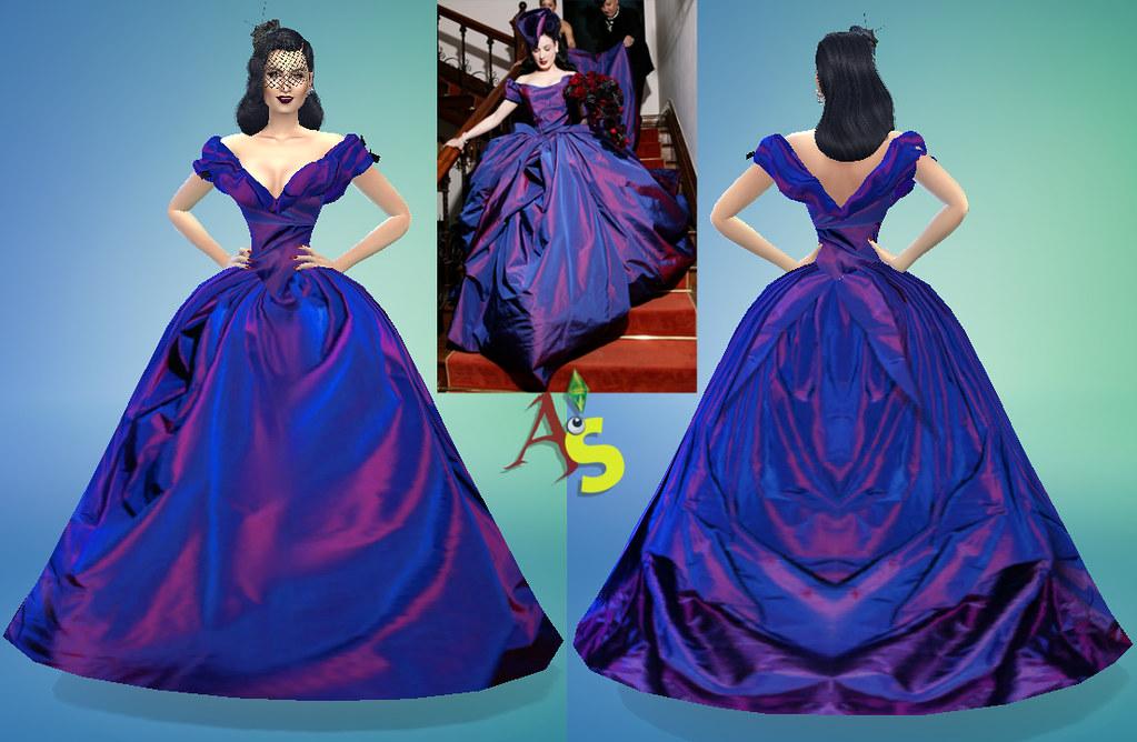 Dita Von Teese Wedding Gown By AugusteS