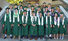 A total of 83 current and former UH student-athletes representing 18 sports program participated in the UH Manoa's spring 2017 commencement ceremony at the Stan Sheriff Center on Saturday, May 13, 2017.
