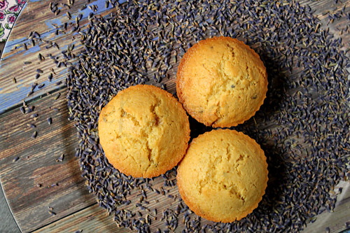 Lavender Coconut Muffins -edit