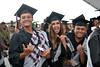 "Students show their excitement as commencement begins on the Pālamanui campus on Saturday, May 13, 2017.   View more photos: <a href=""https://www.flickr.com/photos/53092216@N07/sets/72157681108098012"">www.flickr.com/photos/53092216@N07/sets/72157681108098012</a>"