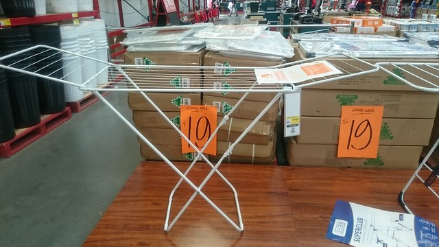 Winged 18m metal clothes airer AUD19 - Bunnings, Springvale