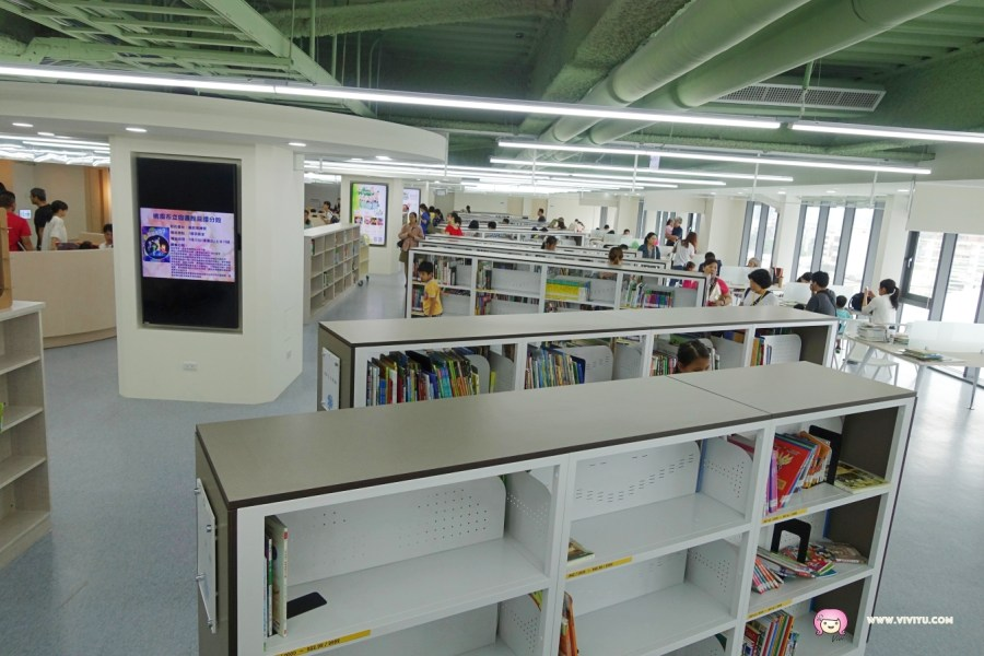 [八德.旅遊]桃園市兒童美術館&桃園市立圖書館~八德廣豐新天地五、六樓新開幕.新增VR體驗區、AR兒童探索區 @VIVIYU小世界