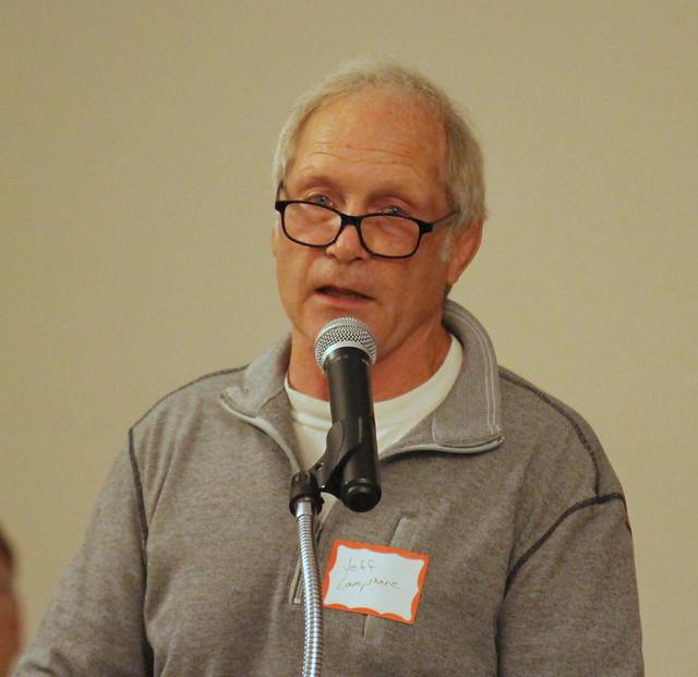 Jeff Lamphere, Presenter for inductee Jim Nunn.
